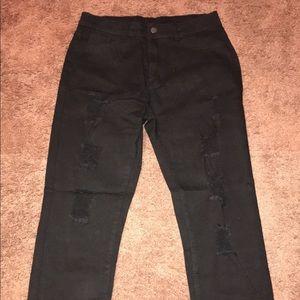 Black jeans brand new